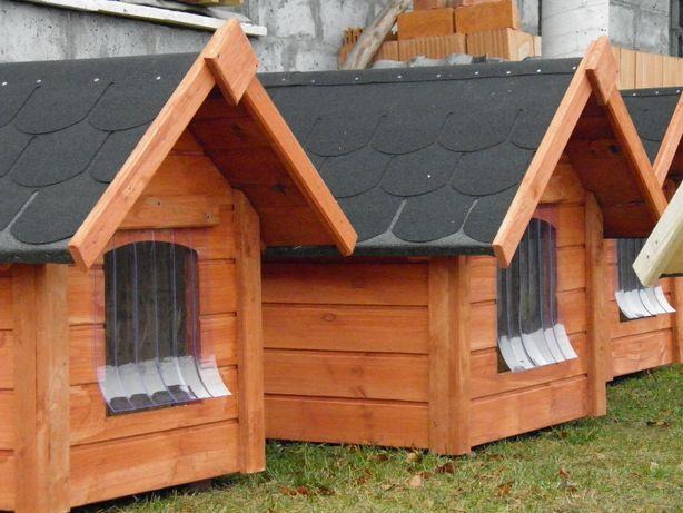 Buda dla psa boks kojec meble ogrodowe toaleta drewniana TRANSPORT