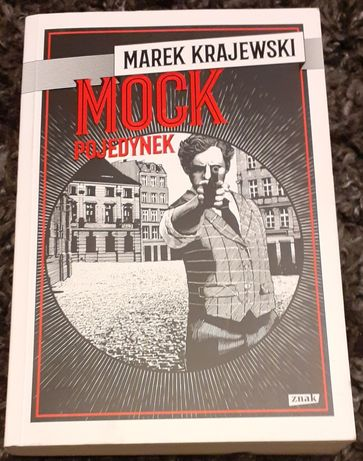 "Książka pt. ,, Mock pojedynek "" Marek Krajewski"