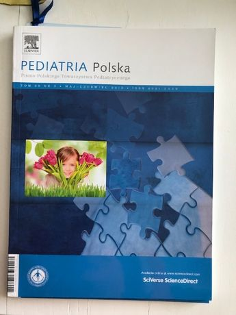 czasopismo Pediatria Polska tom 88 nr 3 Maj-Czerwiec 2013