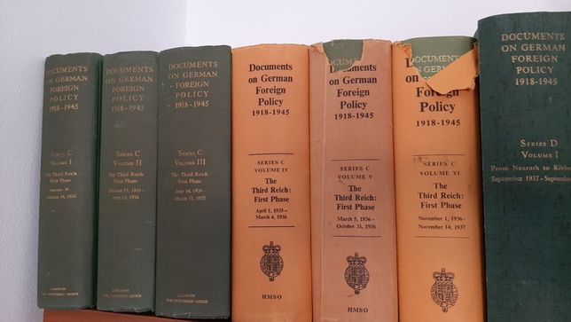 Documents on German Foreign Policy