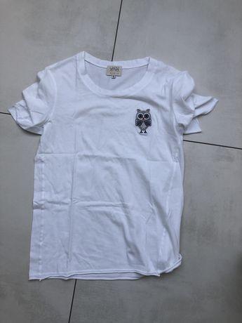 Jemioł tshirt haftowana sowa