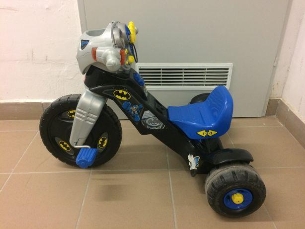 FISHER PRICE rowerek trójkołowy BATMAN światła dźwięki. Polecam!