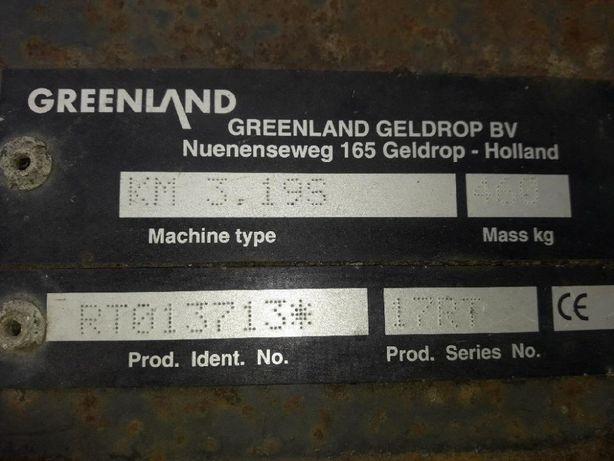 Części używane do kosiarki bębnowej Greenland KM 3.19S ( Deutz Fahr )