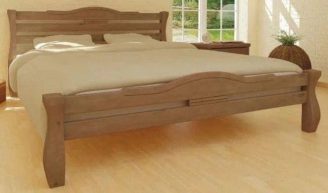 Ліжко. Кровать из дерева под ортопедический матрас
