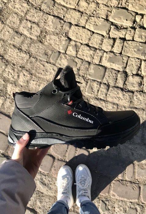 Зимние ботинки Columbia мужские черные Харьков - изображение 1