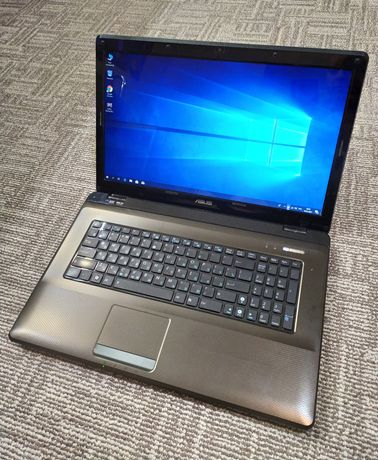 "Мощный, надёжный Ноутбук Asus 17.3"" Intel Core i5 4 Ядра, 8Гб, 3часа"