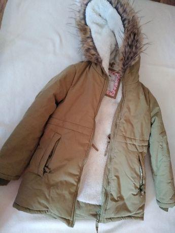 kurtka zimowa endo 128 bardzo ciepła