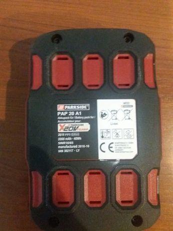 Bateria akumulator Parkside 20V