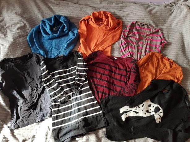 Paka ubrań damskich, zestaw, paczka, bluzki, swetry, tuniki 38 sztuk