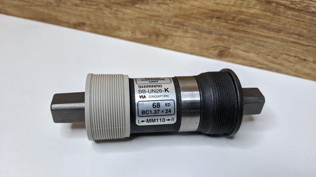 Каретка Shimano BB-UN26-K BSA 68х110 мм квадрат