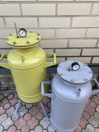 Автоклав, побутовий газовий консервант