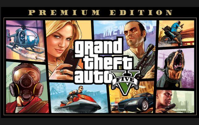 Лицензионная игра GTA 5, ГТА 5, Grand Theft Auto V: Premium Edition ПК