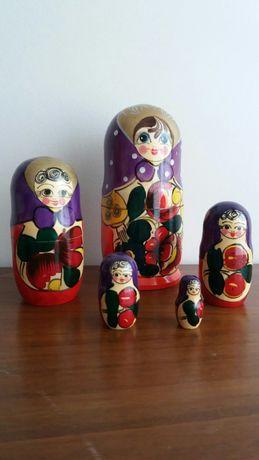 5 Bonecas da Rússia