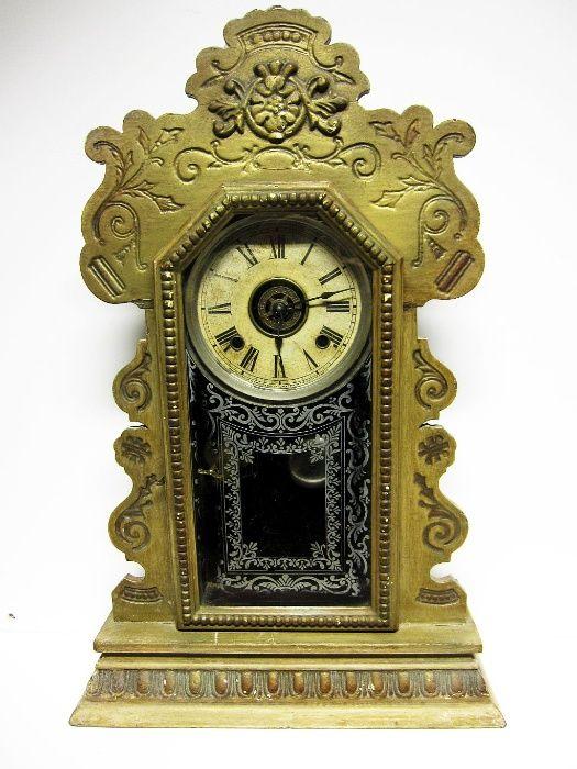 antigo relógio de parede ANSONIA New York