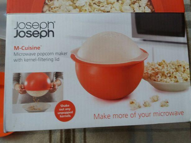 Емкость Joseph Joseph для приготовления попкорна в микроволновке