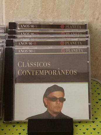 CD clássicos contemporâneos anos 50, 60, 70,80 e 90.
