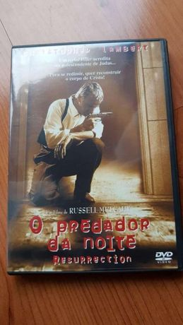 DVD: O Predador da Noite - Russell Mulcahy