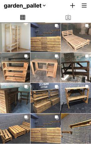 Садові меблі меблі в стилі лофт меблі на замовлення меблі з палет підо