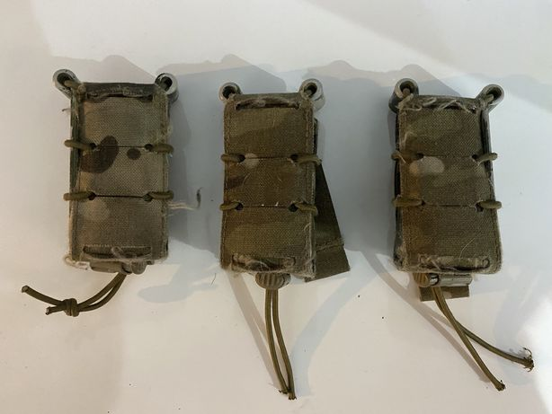 Ladownice na magazynki pistoletowe molle multicam