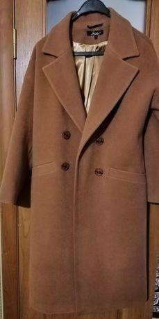 Шерстяное пальто, oversize