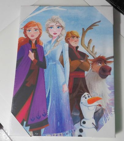 Quadro Disney Frozen 2 (Stronger Together) 30x40cm NOVO e SELADO