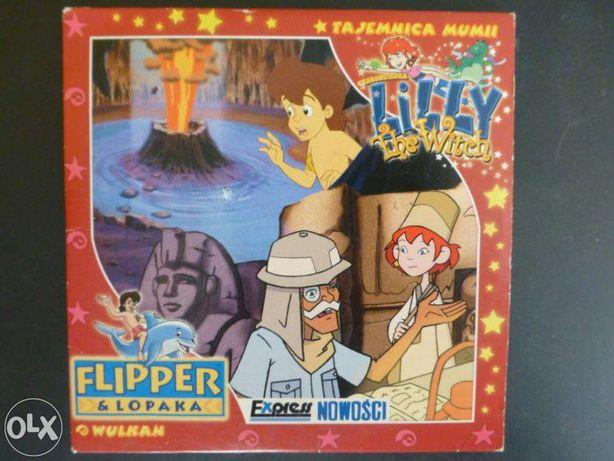 "Bajka VCD - Lilly the Witch ""Tajemnica mumii"" + bajka Flipper & Lopaka"