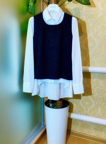 Комплект Brunello Cucinelli кашемир ОРИГИНАЛ р.S Италия рубашка жилет