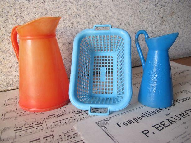 Brinquedos Nacionais em Plástico - Antigos