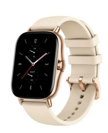 Smartwatch Xiaomi Amazfit GTS 2 dourado gold garantia 2023 troco