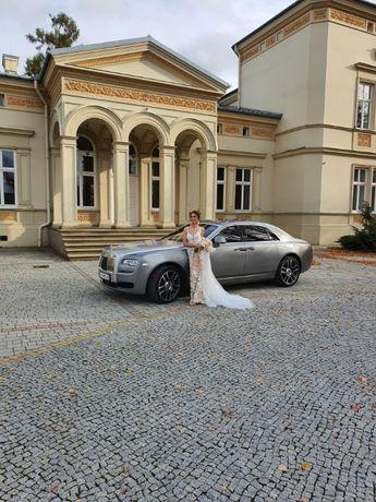 Luksusowy Rolls Royce do ślubu oraz Mercedesy V-klassa