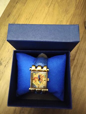 Gruen the Polo Player zegarek damski pozłacany oryginał