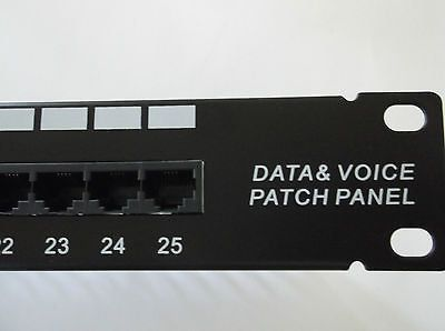 Patch Panel ISDN Telephone Cor-X, 19 , 1U, 25 ports RJ-45