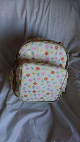 Plecak kwiaty motyle dla mamy / dziewczynki foliowany jak Cath Kidston