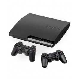 Sony Playstaition 3 super slim 500gb+2джойстика+35 игр