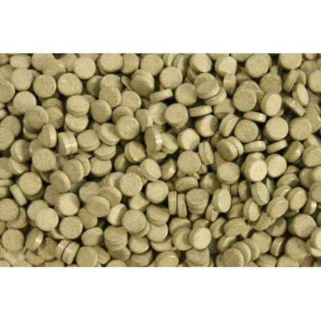 Tabletki przylepne Glopex Algentablets Spirulina 20% - pokarm 50g