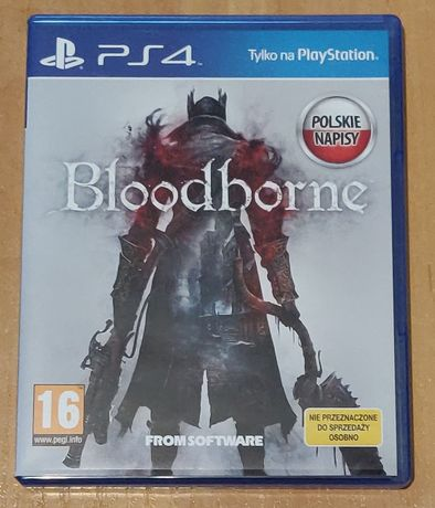 Bloodborne PL PS4 PS5 stan idealny
