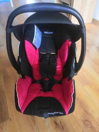 Fotelik samochodowy niemowlęcy Recaro Young Profi Plus z bazą Isofix