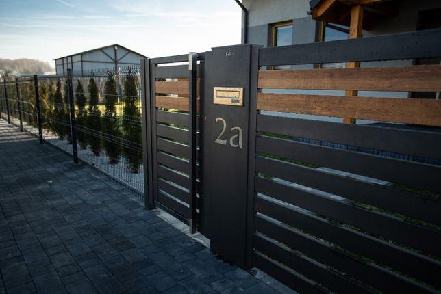Słupek multimedialny LED mulitbox centerbox ogrodzenie numer domu płot