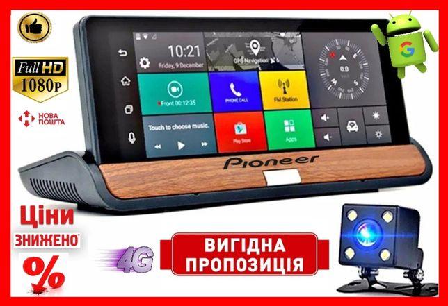 Видеорегистратор GPS навигатор Pioneer T7 Android,3G