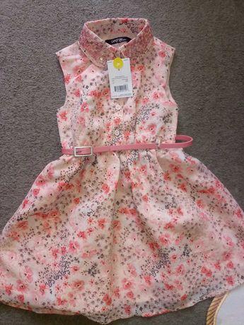 Sukienka George, nowa. R. 98-104
