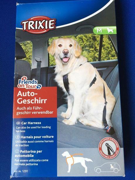 Coleira peitoral cinto cão