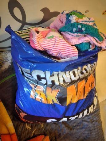 Очень большой пакет вещей для девочки  от0-1 +игрушки