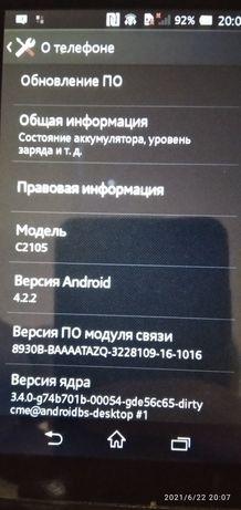 sony c2105 телефон