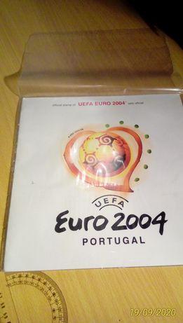 Selos oficial Euro 2004 - Está em BEJA