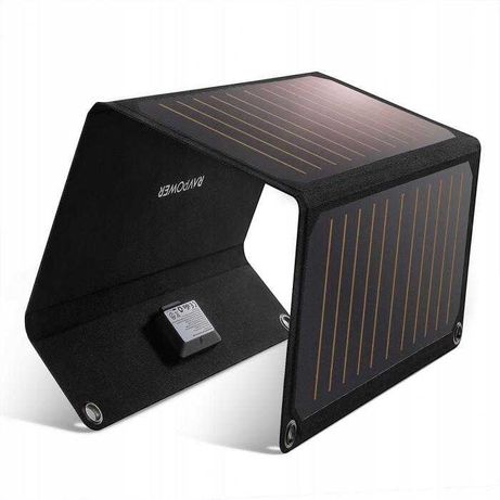 ładowarka słoneczna solarna RavPower Prime 21W 2xUSB Nowa