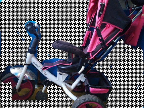 Велосипед трость для девочки в отличном состоянии