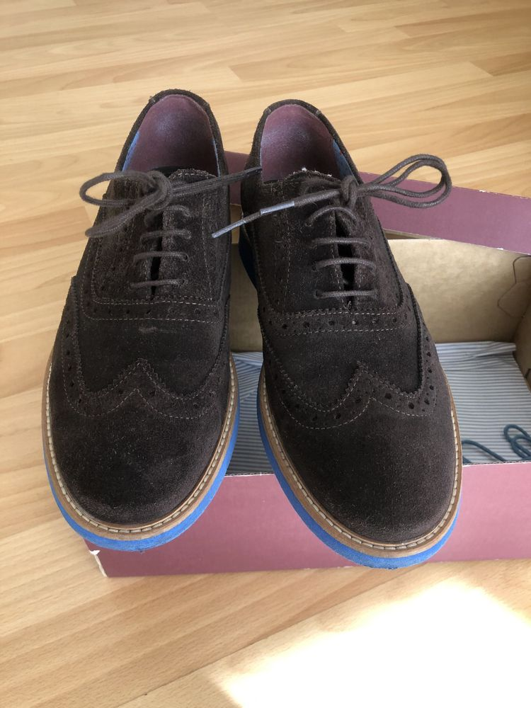 Sapatos camurça El Ganso
