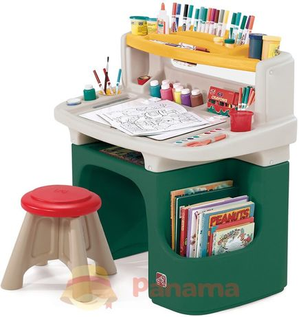 Столик для творчества Step Стол парта Столик для рисования