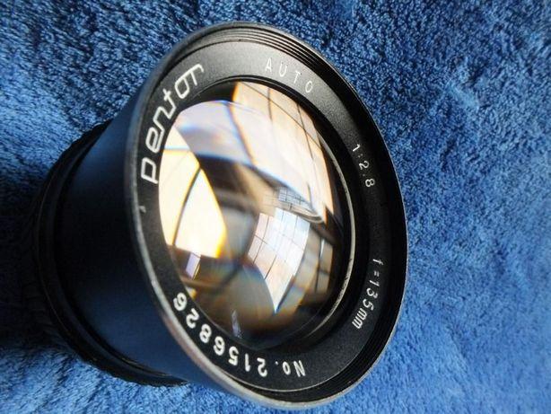 Obiektyw Pentor Auto 1:2,8 f=135mm Gwint M42 Teleobiektyw