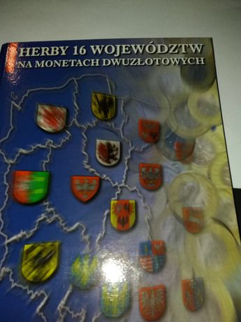 Album i 16 monet 2zł Herby 16 województ